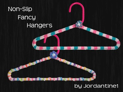 New Non-Slip Grip Clothing Hanger Cover - Rainbow Loom - Hook Only - Mother's Day , Baby Shower Gift