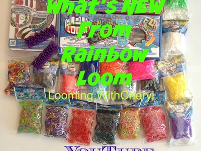 New products from Rainbow Loom -  Looming WithCheryl