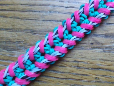 NEW Rainbow Loom Walker Bracelet