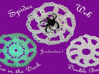 New Spider Web Charm - Rainbow Loom - Halloween Fall
