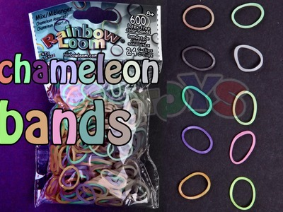 Rainbow Loom MAGIC - Color Changing Chameleon Bands Review