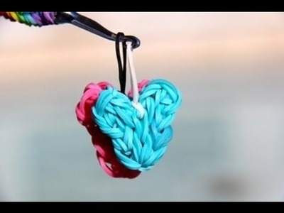 Rainbow Loom Nederlands Hartje - Heart