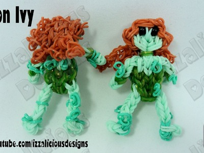 Rainbow Loom Poison Ivy Action Figure.Charm from Batman - Gomitas