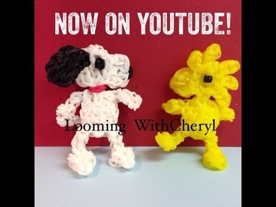 Rainbow Loom WOODSTOCK Peanuts character - Looming WithCheryl