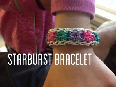 Starburst Rainbow Loom Bracelet (Rubber Band Bracelet)
