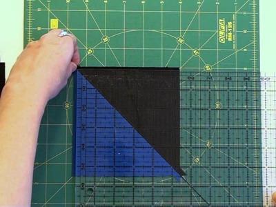 22. How to Piece a Pinwheel Quilt Block