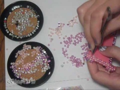 3D Bling CELLPHONE CASE DECORATING #6 FROM SHINEWIN