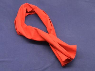 Arno costume (ACU): scarf tutorial