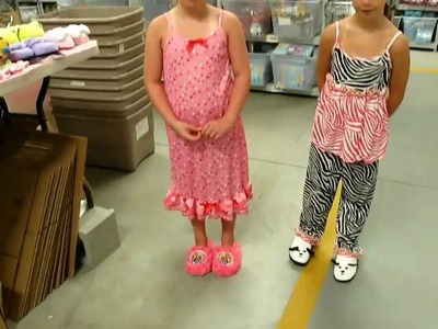 Childrens Slippers -- Choosing the Correct Size