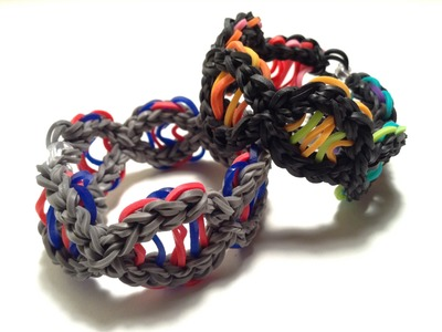 DNA Bracelet Tutorial- Original Rainbow Loom design