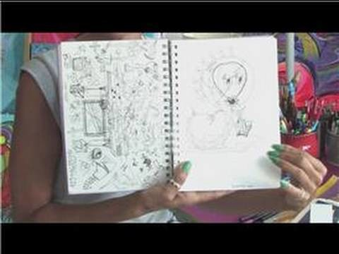 Drawing Tutorial : How to Keep a Sketch Book
