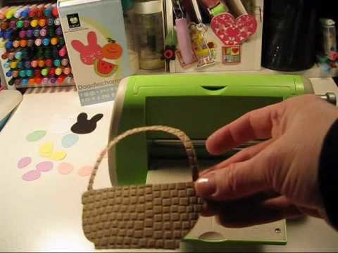 Easter Card Making Kit using Cricut Card Ideas