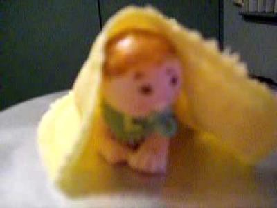 Fondant baby shower cake topper