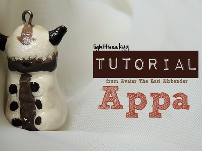 From Avatar: The Last Airbender, Appa Charm Tutorial