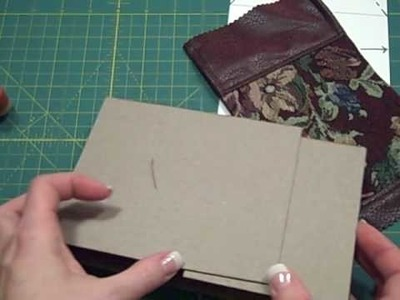Gate Fold Paper Bag Mini Album Tutorial-Part 2
