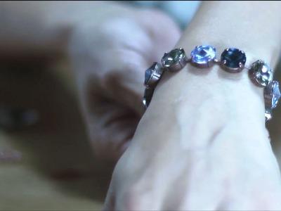 Gita-jewelry School - Design Swarovski Bracelet 12mm Rivoli