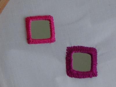 Hand Embroidery: Mirror Work Stitch