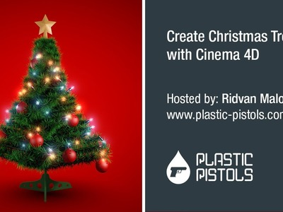 How To Create Christmas Tree With Cinema 4D