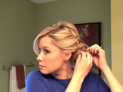 How to Do A Full Updo with a Braid | Real Simple
