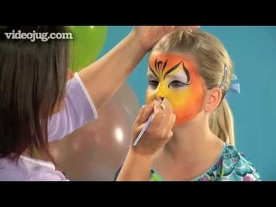 How To Do Face Painting: The Tiger