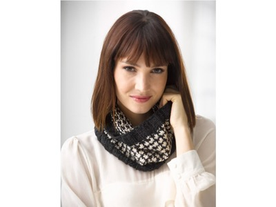 HOW TO KNIT - POLKA DOT COWL