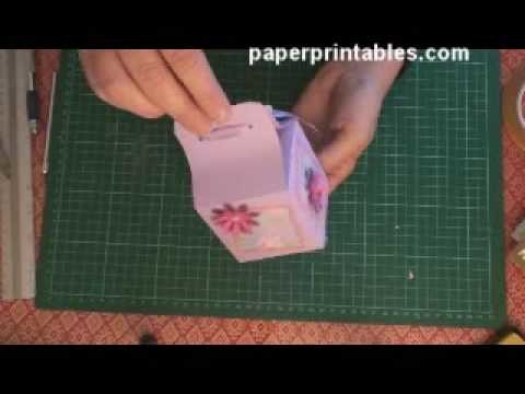How to make a 7cm gift box tutorial