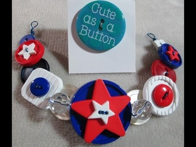 How to Make a Button Necklace with Wire and Ribbon