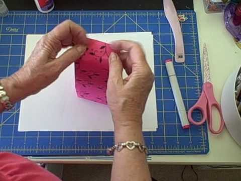 How To Make A Gift Bag From An Envelope.wmv