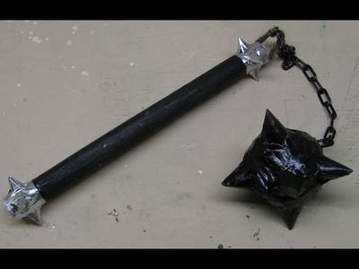 How to Make a Medieval Flail - Ornamental for fun