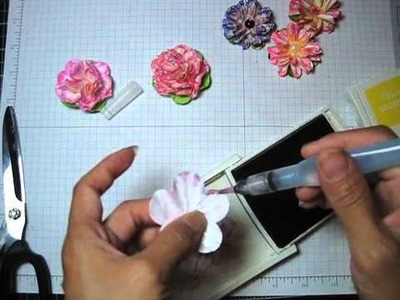 How to make a paper flower # 1
