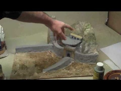How-to-make-a-paper-mache-diorama-helms-deep.wmv