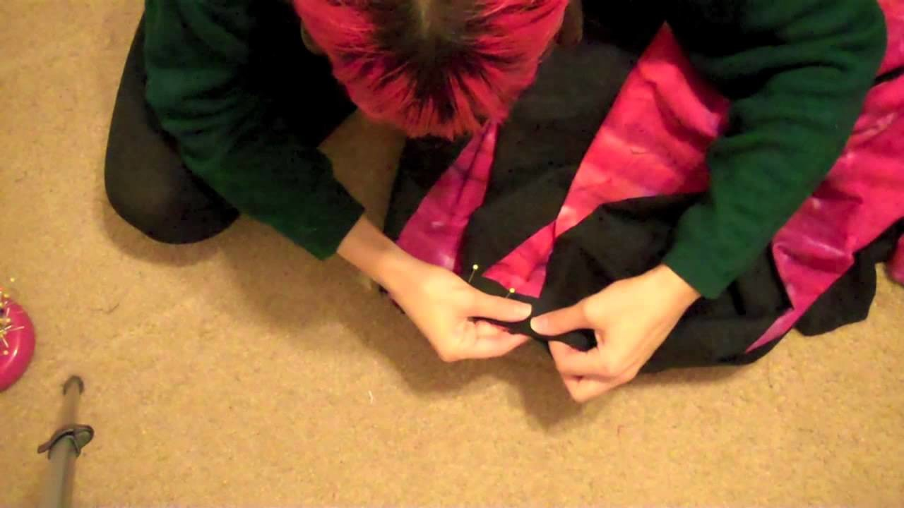 How to make a Tribal Belly Dance skirt part 3!