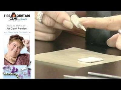 How to Make an Art Clay® Pendant