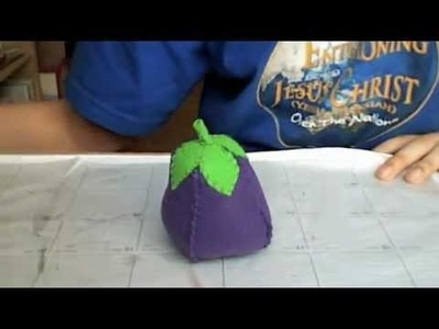 How To Make An EggPlant Plushie