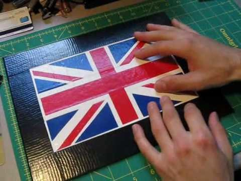 How to make Duct tape paintings