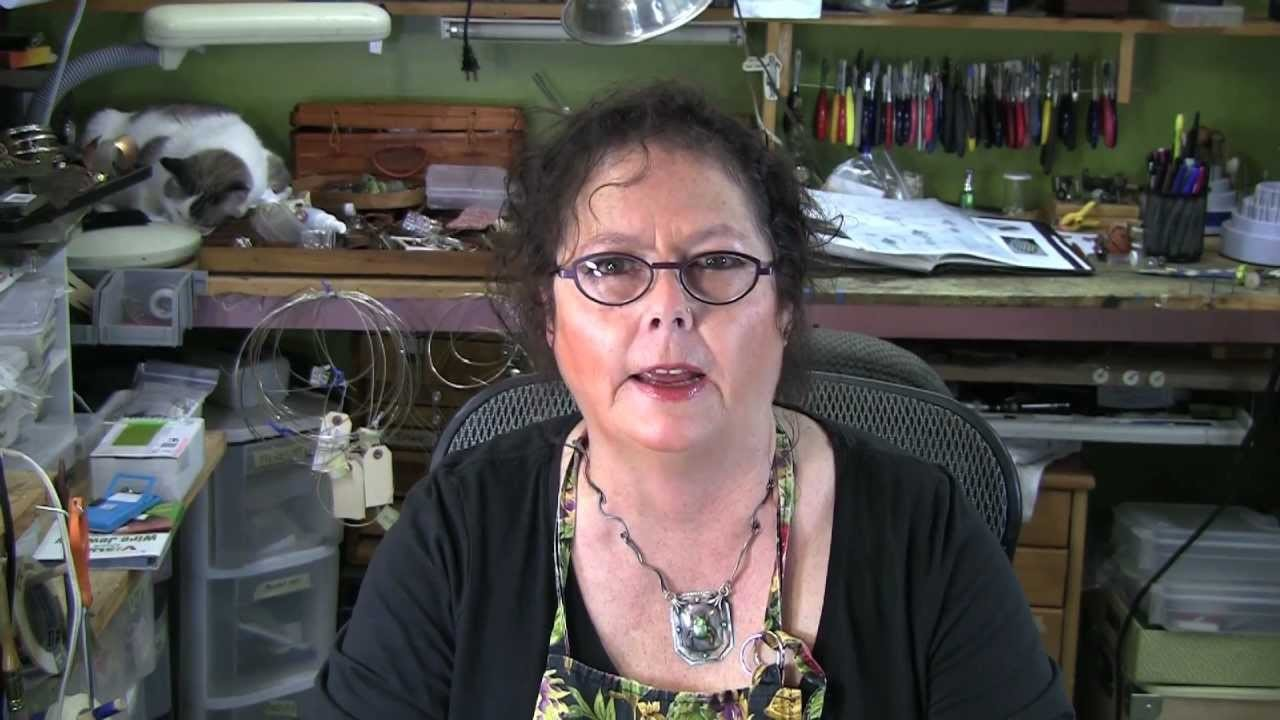 How to Make Ear Wires   Jewelry Tips with Nancy