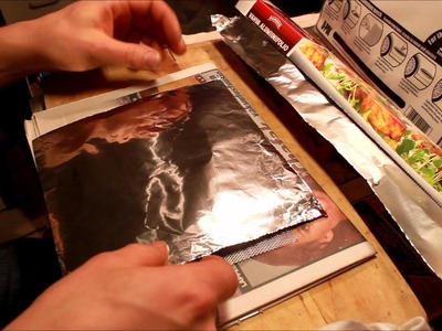 How to make scaled foil