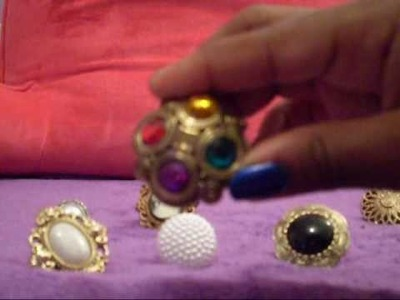 How To Make Your Own Jewelry: Button Rings !