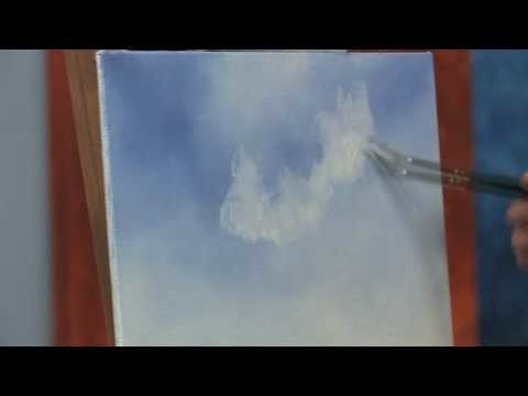 How to Paint a Simple Blue Sky