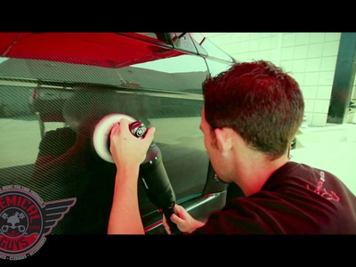 How To: Polishing Carbon Fiber - Chemical Guys Rupes LHR15ES Polisher Mitsubishi Evolution