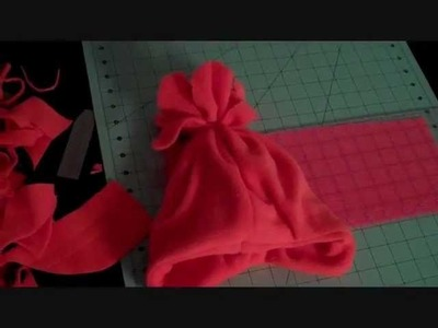 How To: Sew a VERY SIMPLE Fleece Hat