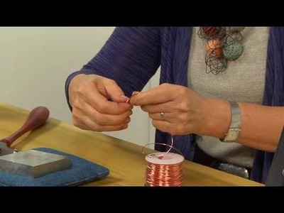 How to Shape, Texture, and Antique Wireworked Jewelry with Ronna Sarvas Weltman