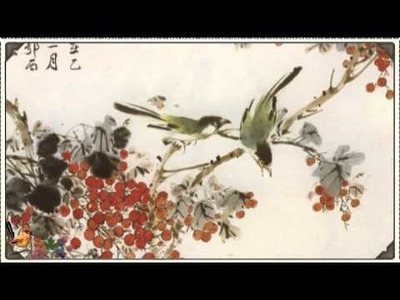 How to Study Chinese Art. Chinese Arts in English. Chinese bird and flower painting.