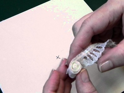 Lace flower tutorial 001.MOV