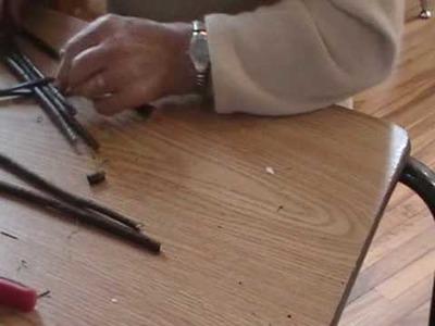 Nancy Today: How to make a Basket base pt. 1 ASMR weaving basketmaking (basket making tutorial)