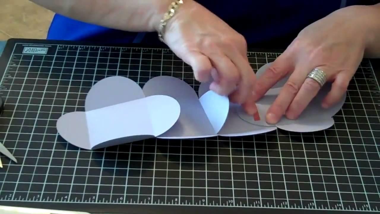 Petal Card Box Tutorial -  KreatesKards Tutorial