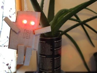 Quick LED Robot Ornament - Becky's Workshop