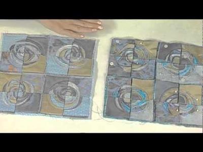 Quilting Arts Workshop Preview - Beryl Taylor - Mixed-Media Art Quilts