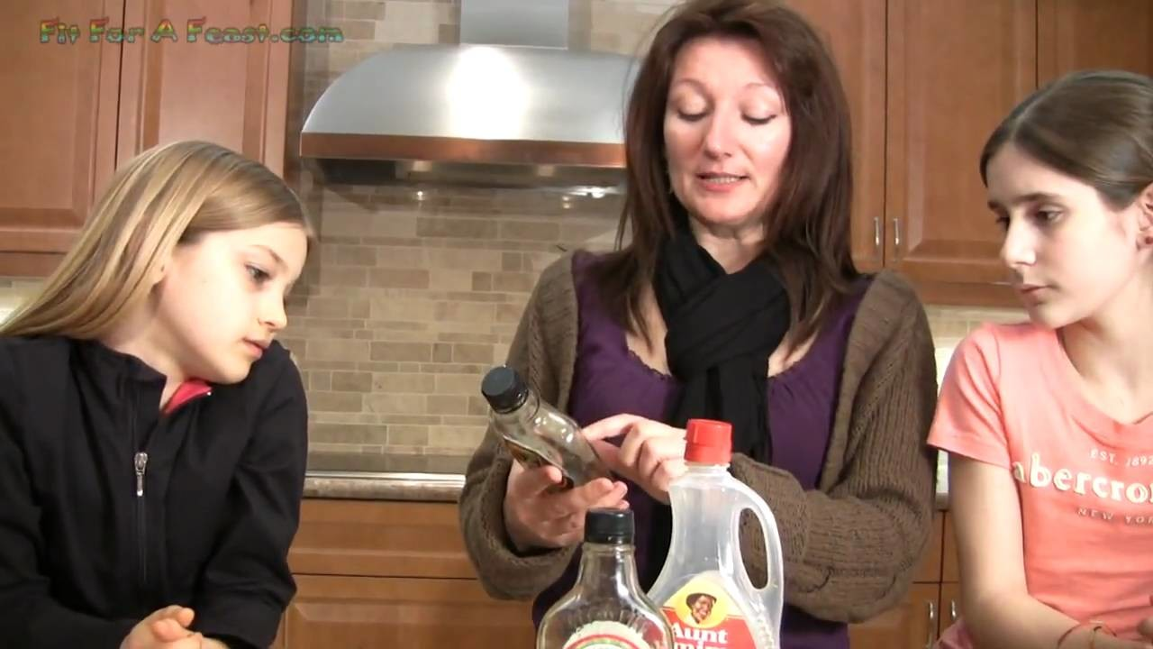 Reading Food Labels Pancake Syrup Pancakes - Nutritionist Mary explains how to read food labels