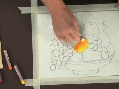 Reverse Pastel Painting - Lesson Plan